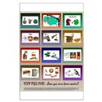 Very Puzzling rebus puzzles Large Poster