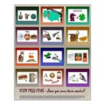 Very Puzzling rebus puzzles Small Poster