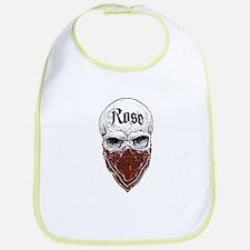 Rose Tartan Bandit Cotton Baby Bib