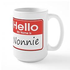 Hello, My name is Nonnie Ceramic Mugs