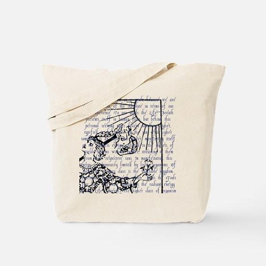Tarot Key 0 - The Fool Tote Bag