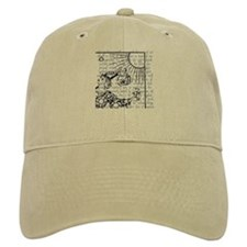 Tarot Key 0 - The Fool Baseball Cap