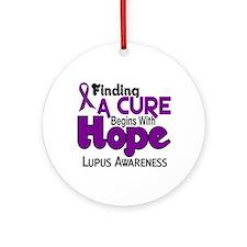 HOPE Lupus 5 Ornament (Round)