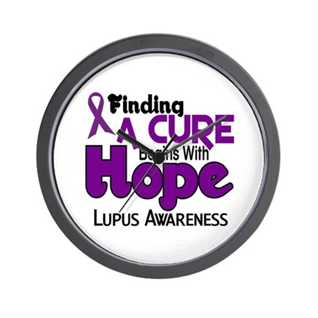 HOPE Lupus 5 Wall Clock