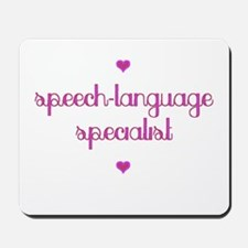 Speech-Language Specialist Mousepad