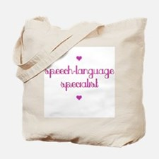 Speech-Language Specialist Tote Bag