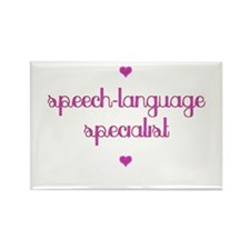 Speech-Language Specialist Rectangle Magnet
