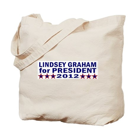 Lindsey Graham for President Tote Bag