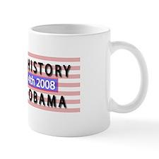 Funny Obama makes history Mug