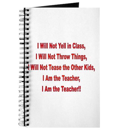 I'm the Teacher Journal