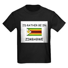I'd rather be in Zimbabwe T
