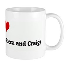 I Love My 2 Best Friends (Ric Mug
