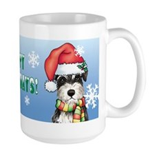 Holiday Miniature Schnauzer Mug