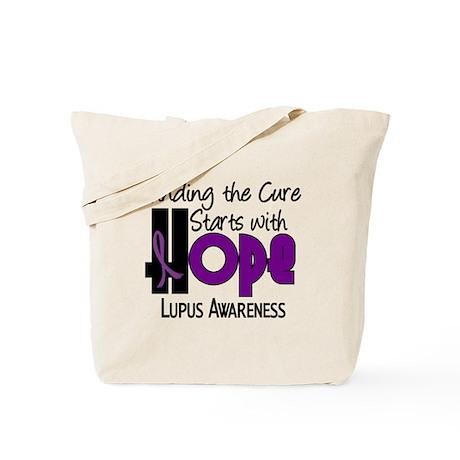 HOPE Lupus 4 Tote Bag