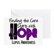 HOPE Lupus 4 Greeting Card