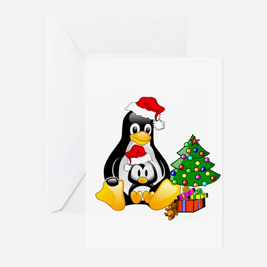 Its a Tux Christmas Greeting Cards (Pk of 10)