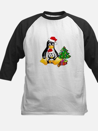 Its a Tux Christmas Kids Baseball Jersey