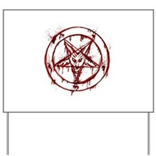 Cute Pentagram Yard Sign