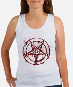 Unique Pentagram Women's Tank Top