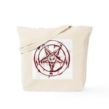 Cute Satanic Tote Bag