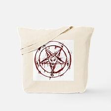 Funny Satanist Tote Bag