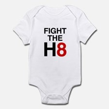 Fight the H8 Infant Bodysuit