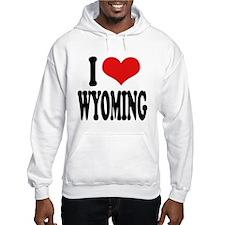 I Love Wyoming Hoodie