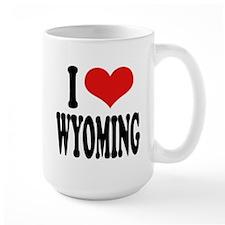 I Love Wyoming Mug