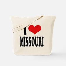 I Love Missouri Tote Bag