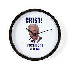 Charlie Crist for President 2 Wall Clock