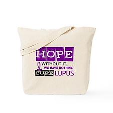 HOPE Lupus 2 Tote Bag