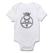 Funny Satanist Infant Bodysuit