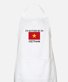 I'd rather be in Vietnam BBQ Apron