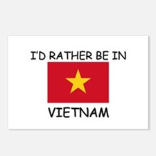 I'd rather be in Vietnam Postcards (Package of 8)