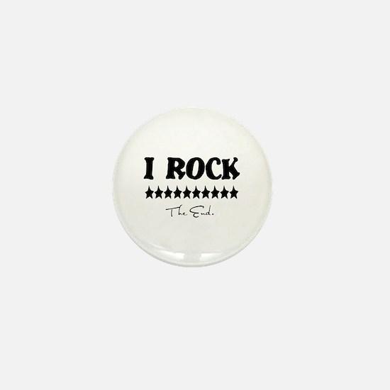 I Rock, The End Mini Button