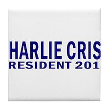 Charlie Crist for President 2 Tile Coaster