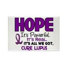 HOPE Lupus 1 Rectangle Magnet