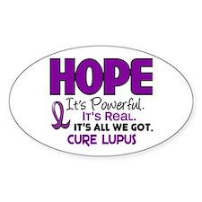 HOPE Lupus 1 Oval Sticker (10 pk)
