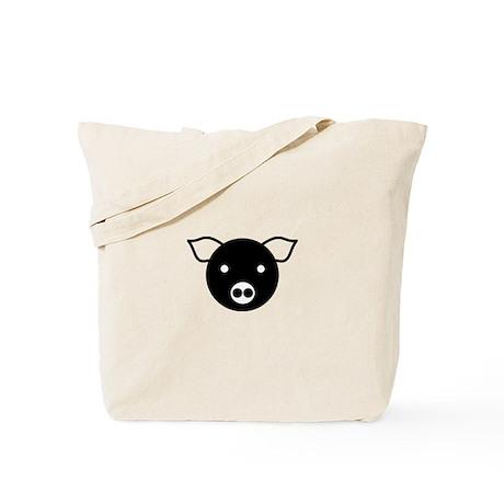 Laughing Pig Tote Bag