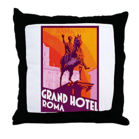 Roma Rome Italy Throw Pillow