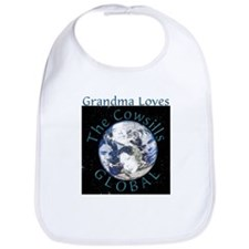 Grandma Loves Global Bib