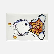 Luv Bug Westie Rectangle Magnet