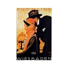 Wiesbaden Germany Rectangle Magnet (10 pack)