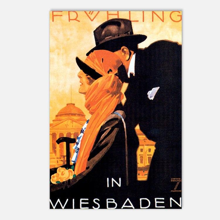 Wiesbaden Germany Postcards (Package of 8)