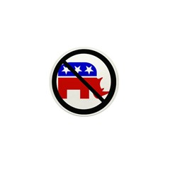 no-rino_1 Mini Button (10 pack)