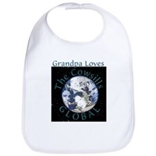 Grandpa Loves Global Bib