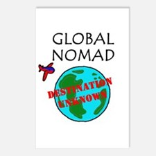 Global Nomad Postcards (Package of 8)