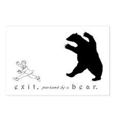 Exit, Pursued By A Bear - Postcards (Package of 8)