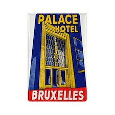 Brussels Belgium Rectangle Magnet