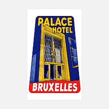 Brussels Belgium Rectangle Sticker 10 pk)